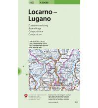 Wanderkarten Schweiz & FL Locarno, Lugano Bundesamt für Landestopographie