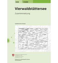Wanderkarten Schweiz & FL Vierwaldstättersee Bundesamt für Landestopographie