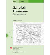 Wanderkarten Schweiz & FL Gantrisch / Thunersee Bundesamt für Landestopographie