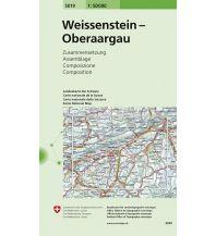 Wanderkarten Schweiz & FL Weissenstein / Oberaargau Bundesamt für Landestopographie