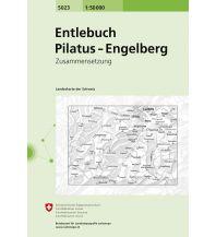 Wanderkarten Schweiz & FL Entlebuch, Pilatus - Engelberg Bundesamt für Landestopographie