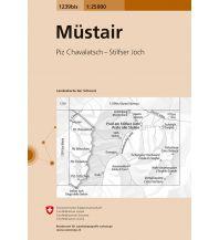 Wanderkarten Südtirol & Dolomiten Landeskarte der Schweiz 1239bis, Müstair 1:25.000 Bundesamt für Landestopographie