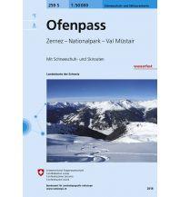 Skitourenkarten Landeskarte der Schweiz 259-S (Skitourenkarte), Ofenpass 1:50.000 Bundesamt für Landestopographie