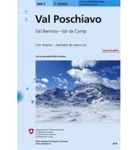 Skitourenkarten Landeskarte der Schweiz 469-S (Skitourenkarte), Val Poschiavo/Puschlav 1:50.000 Bundesamt für Landestopographie