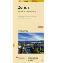 Wanderkarten Schweiz & FL Zürich Bundesamt für Landestopographie