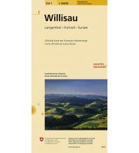 Wanderkarten Schweiz & FL Willisau Bundesamt für Landestopographie