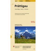 Wanderkarten Schweiz & FL Prättigau Bundesamt für Landestopographie