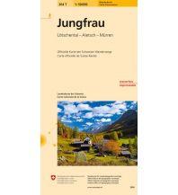 Wanderkarten Schweiz & FL Landeskarte der Schweiz 264T, Jungfrau 1:50.000 Bundesamt für Landestopographie