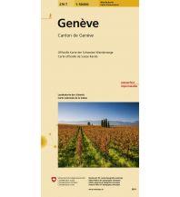 Wanderkarten Schweiz & FL 270T Genève Wanderkarte Bundesamt für Landestopographie