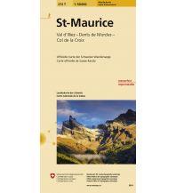 Wanderkarten Schweiz & FL St-Maurice Bundesamt für Landestopographie