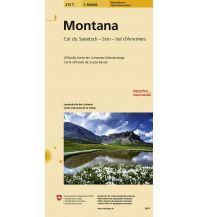 Wanderkarten Schweiz & FL 273T Montana Wanderkarte 1:50.000 Bundesamt für Landestopographie