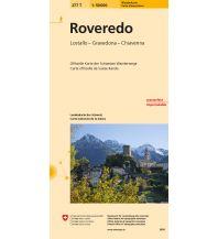 277T Roveredo Wanderkarte Bundesamt für Landestopographie