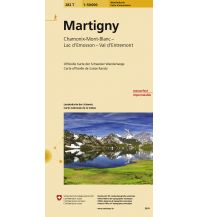 Wanderkarten Schweiz & FL Martigny Bundesamt für Landestopographie