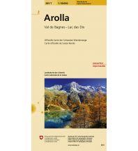 Wanderkarten Schweiz & FL Arolla Bundesamt für Landestopographie