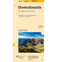 Wanderkarten Schweiz & FL Domodossola 1:50.000 Bundesamt für Landestopographie