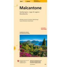 Wanderkarten Schweiz & FL Malcantone Bundesamt für Landestopographie