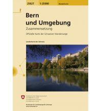 Wanderkarten Schweiz & FL Bern und Umgebung Bundesamt für Landestopographie