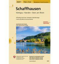 Wanderkarten Schweiz & FL 3329T Schaffhausen 1:50.000 Bundesamt für Landestopographie