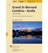 Wanderkarten Schweiz & FL Grand St. Bernard, Combins, Arolla Bundesamt für Landestopographie