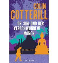 Reiselektüre Dr. Siri und der verschwundene Mönch Goldmann Verlag