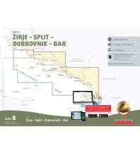 Seekarten Sportbootkarten Satz 8: Adria 2 (Ausgabe 2019/2020) Delius Klasing Verlag GmbH