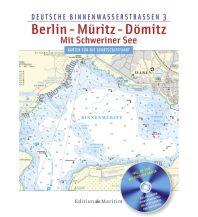 Revierführer Binnen Berlin - Müritz - Dömitz, mit Schweriner See Delius Klasing Edition Maritim GmbH