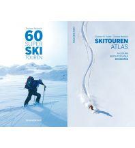 Skitourenführer Österreich 60 Super Skitouren + Skitourenatlas (Kombipaket) Anton Pustet Verlag