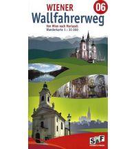 Weitwandern Wiener Wallfahrerweg 06 von Wien nach Mariazell - mit Karten 1:35.000 schubert & franzke Kartographischer Verlag Ges.m.b.H.