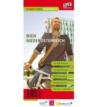 Radkarten StadtLand-Radkarte Wien, Niederösterreich 1:40.000 schubert & franzke Kartographischer Verlag Ges.m.b.H.