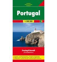 f&b Straßenkarten freytag & berndt Auto + Freizeitkarte Portugal 1:500.000 Freytag-Berndt und ARTARIA