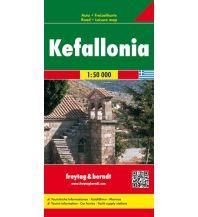 f&b Straßenkarten freytag & berndt Auto + Freizeitkarte Griechenland, Kefallonia 1:50.000 Freytag-Berndt und ARTARIA