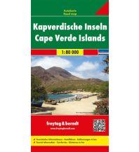 f&b Straßenkarten f&b Autokarte Kapverdische Inseln 1:80.000 Freytag-Berndt und ARTARIA