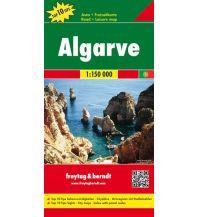f&b Straßenkarten freytag & berndt Auto + Freizeitkarte Algarve 1:150.000 (Top 10 Tips) Freytag-Berndt und ARTARIA