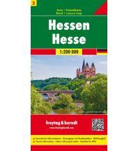 f&b Straßenkarten f&b Auto + Freizeitkarte 5, Hessen 1:200.000 Freytag-Berndt und ARTARIA