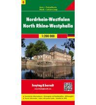 f&b Straßenkarten f&b Auto + Freizeitkarte 8, Nordrhein-Westfalen 1:200.000 Freytag-Berndt und ARTARIA
