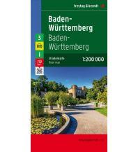f&b Straßenkarten f&b Auto + Freizeitkarte 3, Baden-Württemberg 1:200.000 Freytag-Berndt und ARTARIA