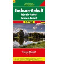 f&b Straßenkarten f&b Auto + Freizeitkarte 10, Sachsen-Anhalt 1:200.000 Freytag-Berndt und ARTARIA