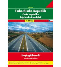 f&b Straßenkarten Tschechische Republik Superatlas Freytag-Berndt und ARTARIA