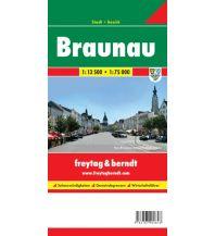 f&b Stadtpläne Braunau, Stadtplan 1:13.500 Freytag-Berndt und ARTARIA