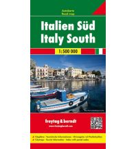 f&b Straßenkarten freytag & berndt Auto + Freizeitkarte Italien Süd 1:500.000 Freytag-Berndt und ARTARIA