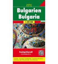 f&b Straßenkarten freytag & berndt Auto + Freizeitkarte, Bulgarien 1:400.000 Freytag-Berndt und ARTARIA