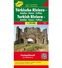 f&b Straßenkarten f&b Autokarte Türkische Riviera - Antalya - Kemer - Fethiye 1:150.00 Top 10 Tips Freytag-Berndt und ARTARIA