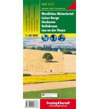 f&b Wanderkarten WK 015 Westliches Weinviertel - Leiser Berge - Stockerau - Hollabrunn - Laa an der Thaya, Wanderkarte 1:50.000 Freytag-Berndt und ARTARIA