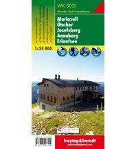 f&b Wanderkarten WK 5031 Mariazell - Ötscher - Josefsberg - Annaberg - Erlaufsee, Wanderkarte 1:35.000 Freytag-Berndt und ARTARIA