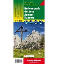 f&b Wanderkarten WK 5062 Nationalpark Gesäuse - Admont - Eisenerz, Wanderkarte 1:35.000 Freytag-Berndt und ARTARIA