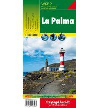 f&b Wanderkarten La Palma, Wanderkarte 1:30.000 Freytag-Berndt und ARTARIA