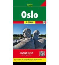 f&b Stadtpläne Oslo, Stadtplan 1:20.000 Freytag-Berndt und ARTARIA