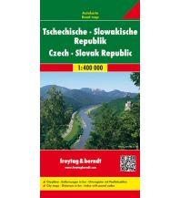 f&b Straßenkarten Tschechische - Slowakische Republik, Autokarte 1:400.000 Freytag-Berndt und ARTARIA