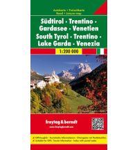 f&b Straßenkarten freytag & berndt Auto + Freizeitkarte Südtirol - Trentino - Gardasee - Venetien 1:200.000 Freytag-Berndt und ARTARIA
