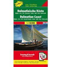 f&b Straßenkarten freytag & berndt Auto + Freizeitkarte Dalmatinische Küste 1:150.000 Top 10 Tips Freytag-Berndt und ARTARIA